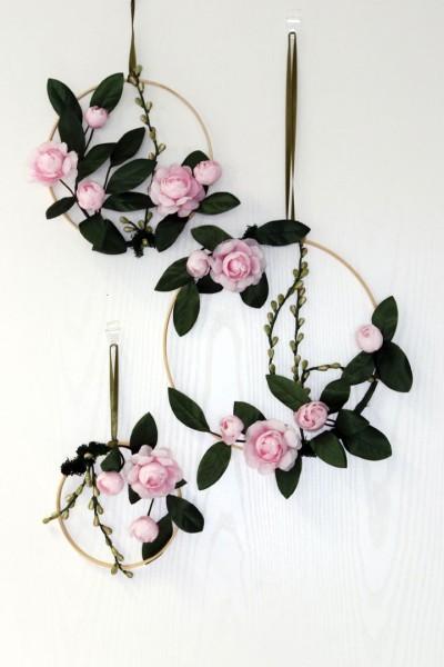 Blumenring Herzblatt 3er-Set