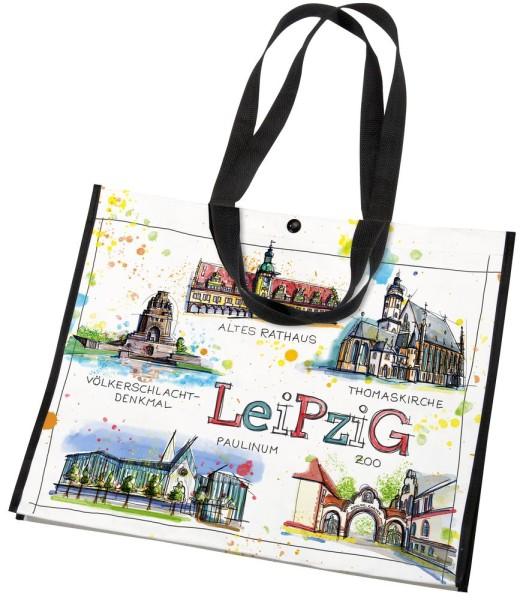 Leipzig - Fineart: PET-Tasche