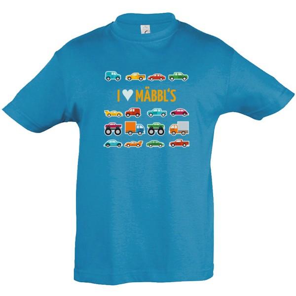 Kinder-T-Shirt I love Mäbbl´s