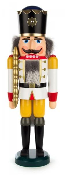 Nussknacker König weiß, 39cm