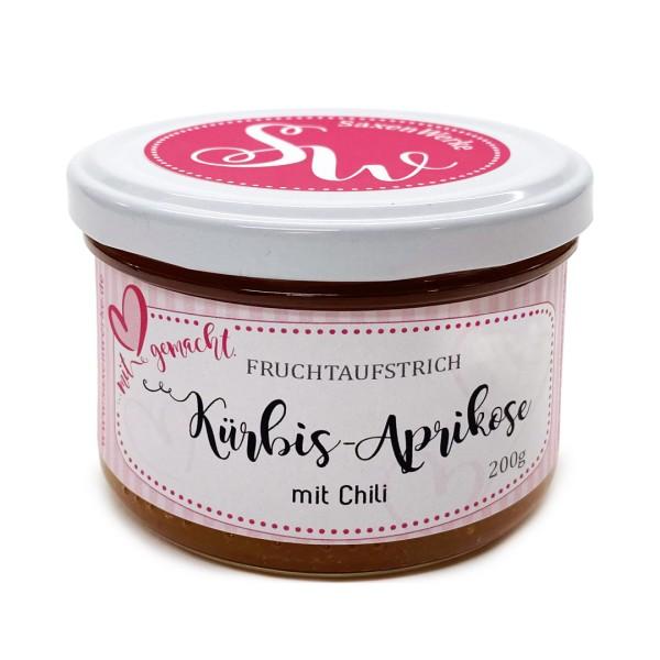 SaxenWerke Fruchtaufstrich Kürbis-Aprikose-Chili