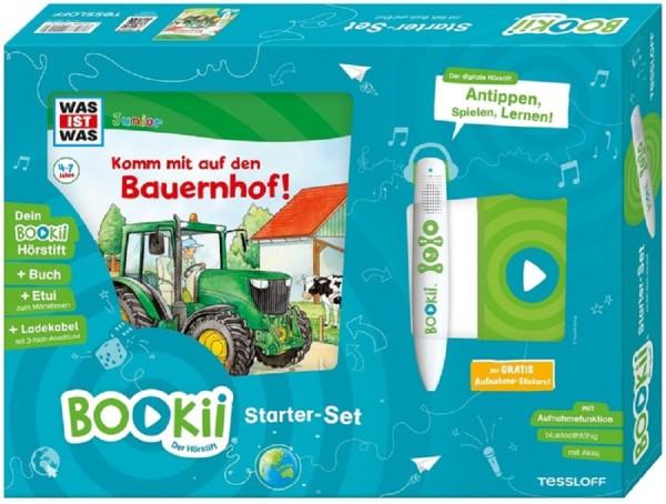 BOOKii® Starter-Set WAS IST WAS Junior Komm mit auf den Bauernhof!