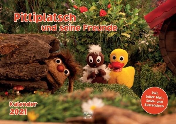 Pittiplatsch und seine Freunde - Kalender 2021