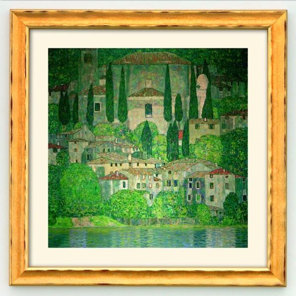 Gustav Klimt: Bild Kirche in Cassone am Gardasee (1913)