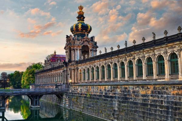 Wandbild Dresden - Der Zwinger (Motiv DMDD21)