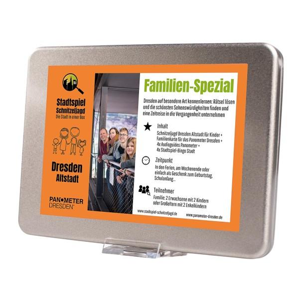 Stadtspiel Familien-Spezial - Dresden Altstadt und Panometer