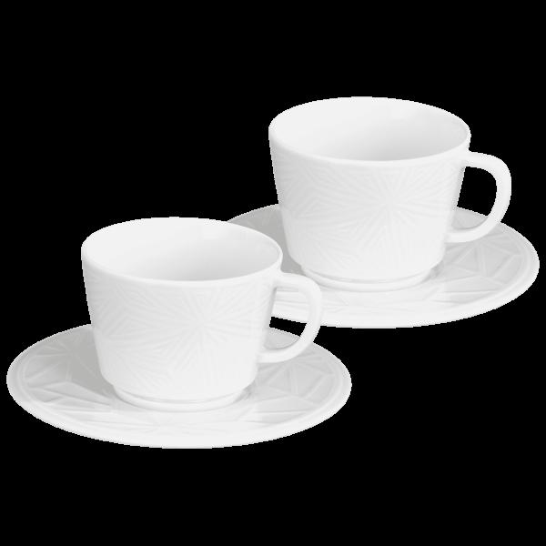 """Meissen - Espressotassen-Set """"Vitruv"""", 2-tlg."""