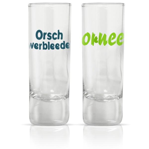 Schnapsgläser-Set Ornee / Orschwerbleede