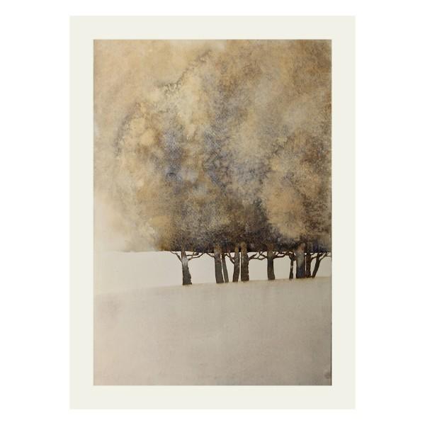 Silvia Ibach Aquarell - Winter