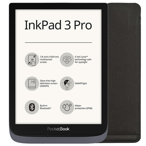 PocketBook InkPad 3 Pro metallic grey (1)