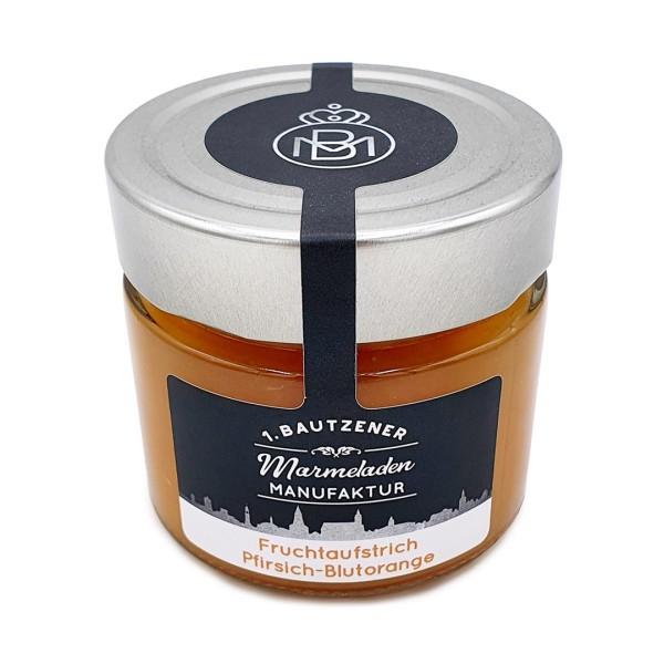 Marmelade Pfirsich-Blutorange
