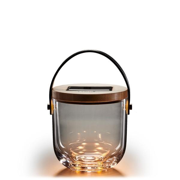 Krinner Lumix Deko Glas-Solarlampe BASIC