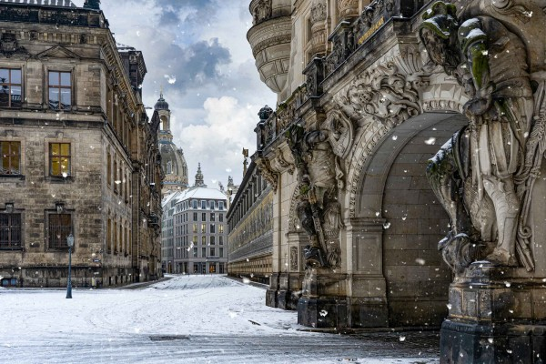 Wandbild Dresden - Das Georgentor (Motiv DMDD19)