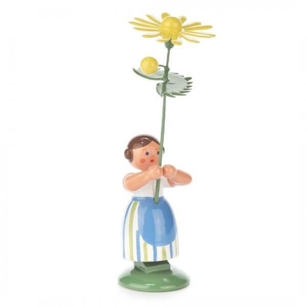 Blumenmädchen mit gelber Margerite