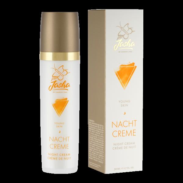 Jasha - Young Skin Nachtcreme - 50 ml
