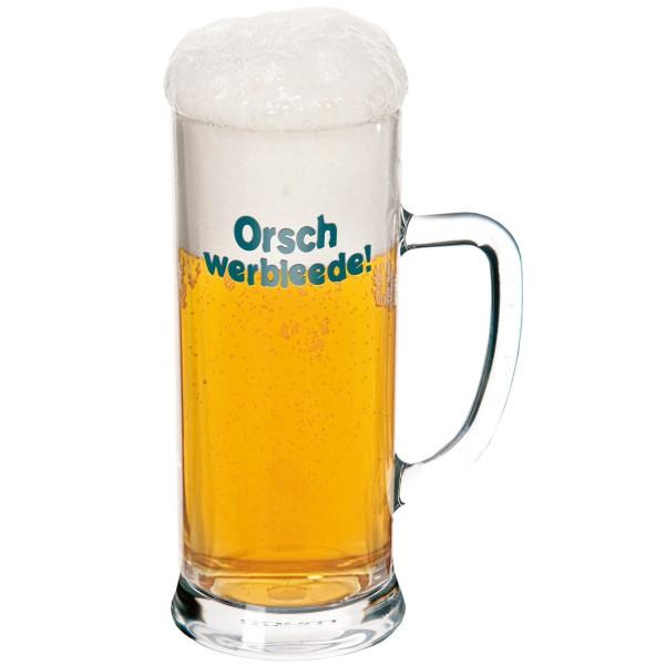 Bierglas Orschwerbleede