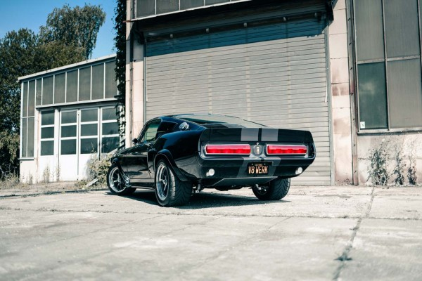 Wandbild 1967 Ford Mustang ELI V (Motiv V8 02)