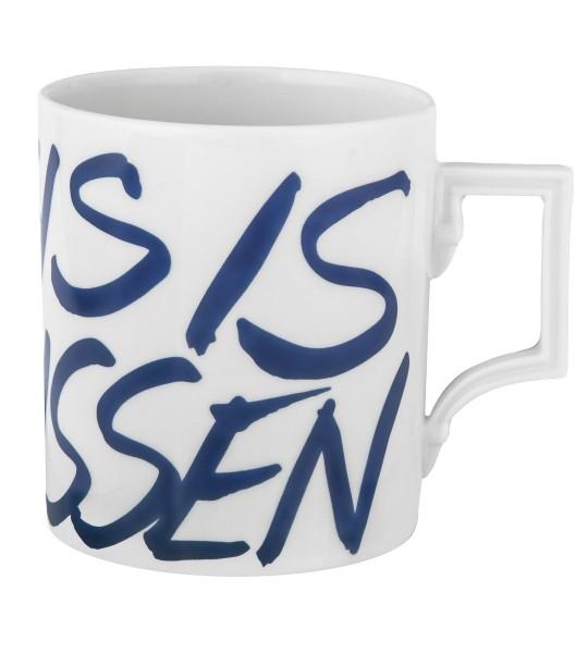 DDV Lokal Exklusiv - Meissener Porzellan - Henkelbecher This is Meissen