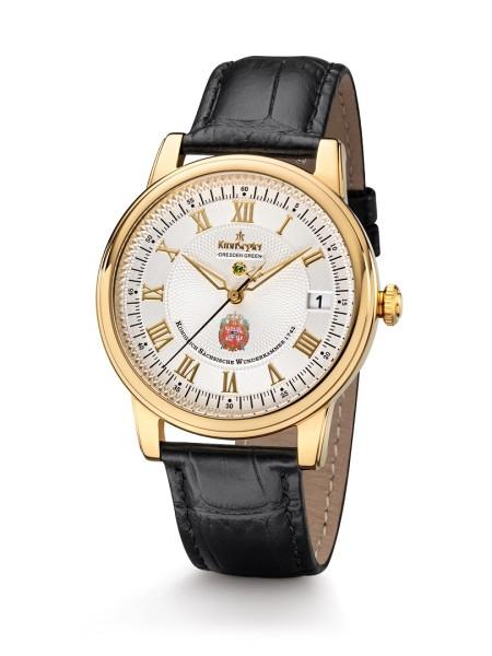 DD Green II - Gold/weiß - Kronsegler Herren-Uhr