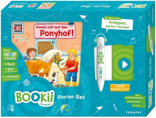 BOOKii® Starter-Set WAS IST WAS Kindergarten. Komm mit auf den Ponyhof!