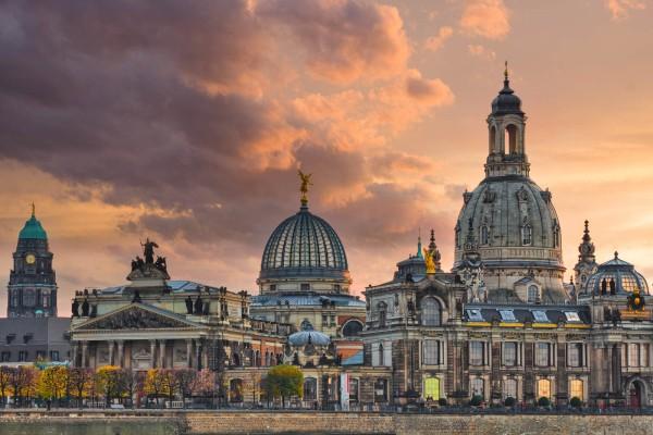 Wandbild Dresden - Die Kunstakademie (Motiv DMDD24)