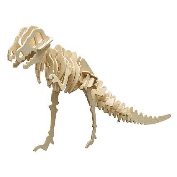 Holzbausatz-Set Dinosaurier