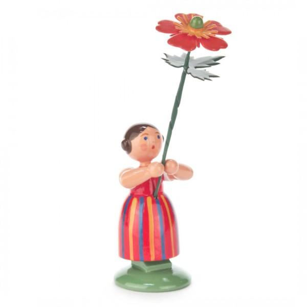 Blumenmädchen mit Geum
