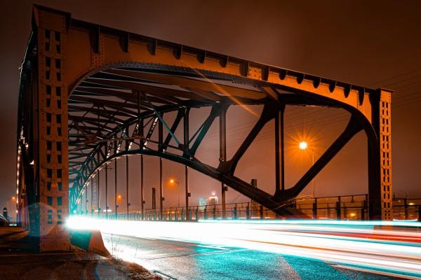 Wandbild Leipzig - Brandenburger Brücke (Motiv FW04)