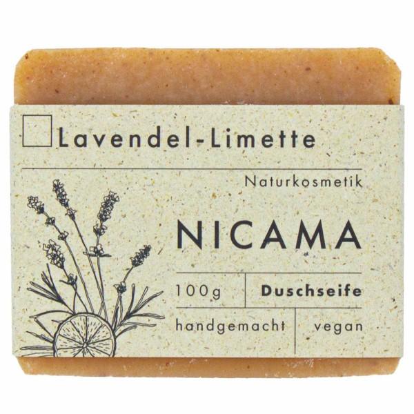 NICAMA Seife Limette-Lavendel