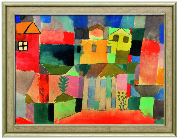 Paul Klee: Bild Häuser am Meer