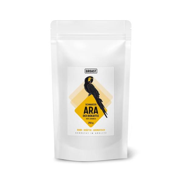 Bio Kaffee Schwarzer Ara