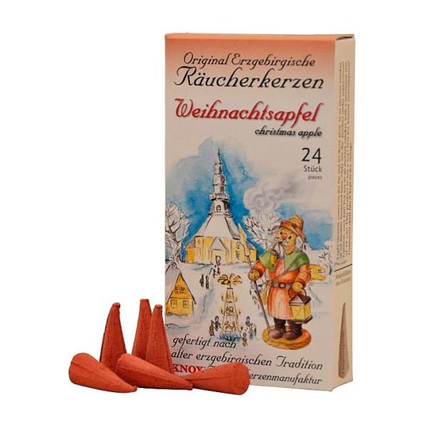 KNOX Räucherkerzen - Erzgebirgischer Weihnachtsapfel