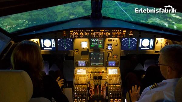 Flugsimulator A320 in Leipzig