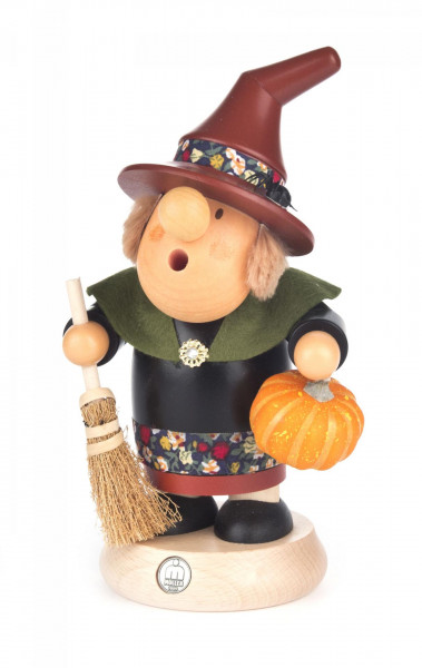 """Räucherfrau """"Müllerchen"""" Halloween-Hexe"""