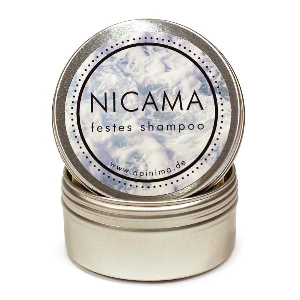 NICAMA Reisedose für feste Shampoos