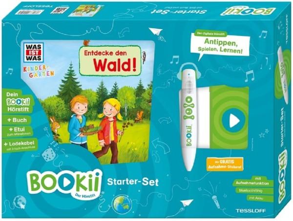 BOOKii® Starter-Set WAS IST WAS Kindergarten Entdecke den Wald