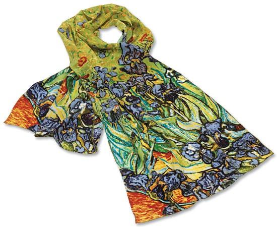 Vincent van Gogh: Seidenschal Iris