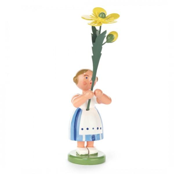 Blumenmädchen mit Butterblume