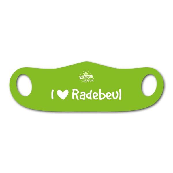 Mund- u. Nasenmaske I love Radebeul