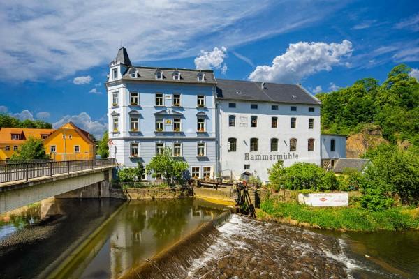 Wandbild Bautzen - Die Hammermühle (Motiv DMBZ30)
