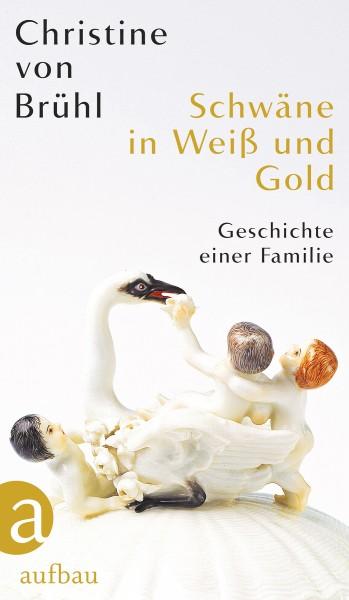 Christine von Brühl: Schwäne in Weiß und Gold