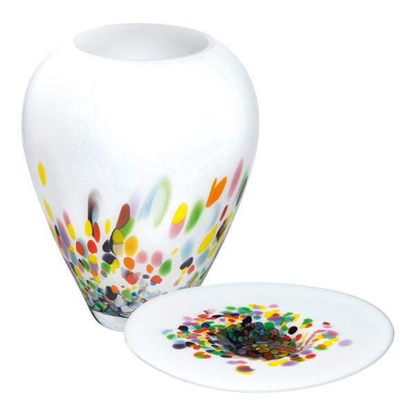 Glasvase & Glasschale Murrina Set