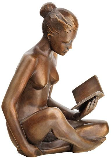 SIME: Skulptur Lesende (2018)