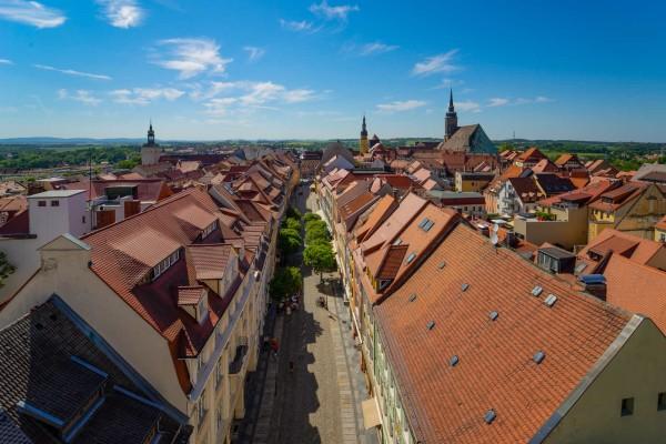 Wandbild Bautzen - Über den Dächern von Bautzen (Motiv DMBZ33)