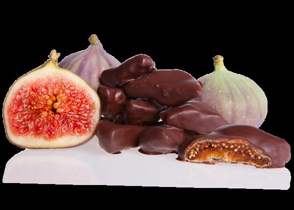 Feigen in Bio-Schokolade Edelbitter
