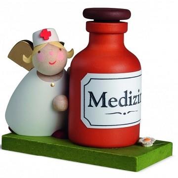 Schutzengel mit Medizin