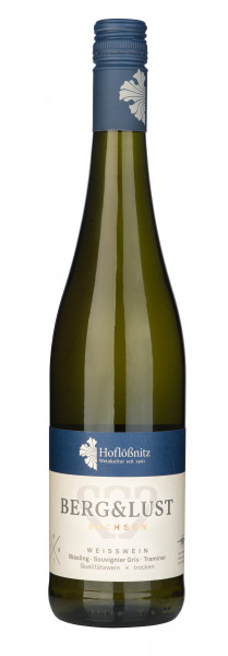 2018 Berg & Lust Weißwein - Cuvee aus Riesling und Traminer - Qualitätswein Trocken