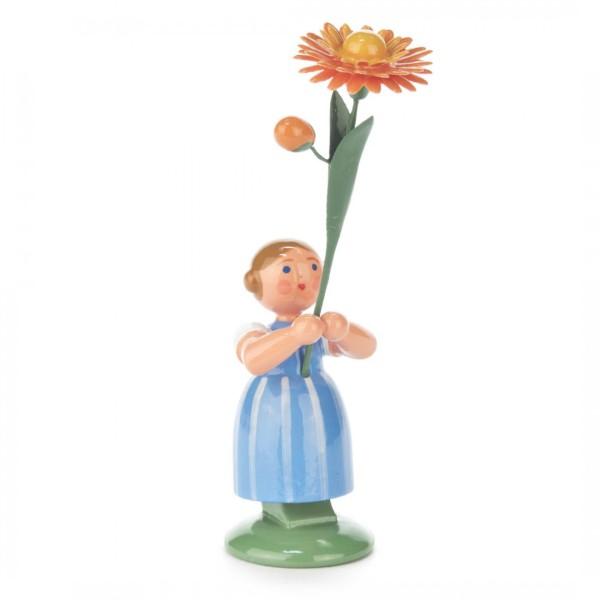 Blumenmädchen mit Ringelblume
