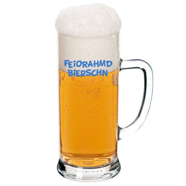 Bierglas Feiorahmdbierschn