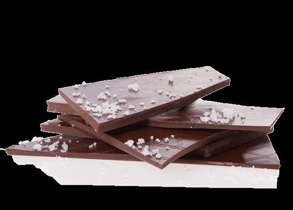 Bio-Schokolade (handgeschöpft) - Fleur de Sel